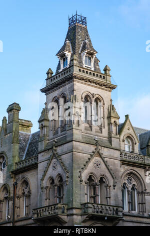 The former Natwest bank, Hustlergate,  Bradford City Centre, UK, - Stock Photo