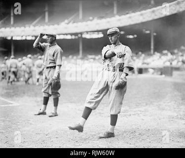 Art Butler, St. Louis Cardinals, 1915. - Stock Photo