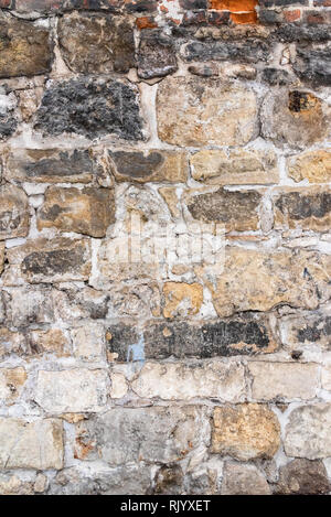 Stone wall, background - Stock Photo
