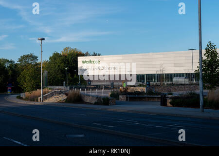 Waitrose Store and John Lewis At Home Store In Horsham, Sussex, UK. - Stock Photo