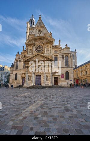 st etienne church paris - Stock Photo