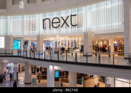 Next clothing store in the Manchester Arndale shopping centre,Manchester,England,UK - Stock Photo