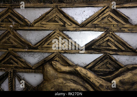 highly detailed image of grunge vintage wallpaper . Stock Photo