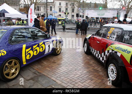 Monte Carlo Rally Banbury 2019 - Stock Photo