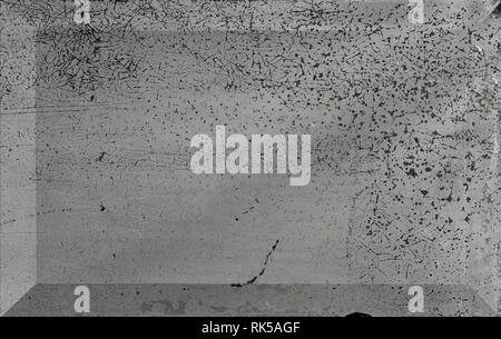 Grunge texture - scrach and dust on old mirror surface - Stock Photo