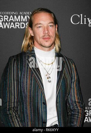 California, USA. 9th Feb 2019. Diplo at the Clive Davis Pre-Grammy Gala and Salute to Industry Icons held at The Beverly Hilton on February 9, 2019 in Beverly Hills, California. Photo: imageSPACE/MediaPunch Credit: MediaPunch Inc/Alamy Live News - Stock Photo