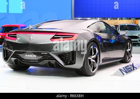 Acura NSX Concept Car - Stock Photo