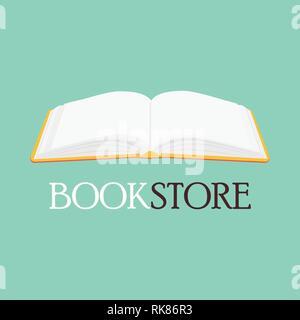 Bookstore, bookshop vector emblem, sign, symbol, logo, icon  Read