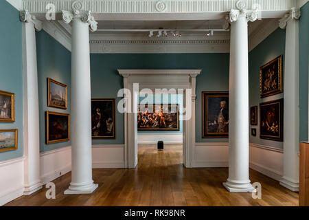 Compton Verney House  is an 18th-century country mansion at Compton Verney in Warwickshire, England. The gardens were landscaped by Capability Brown. - Stock Photo