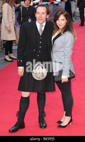 22-09-14: 'What We Did on Our Holiday' - World Premiere, Odeon West End, London Ben Miller arrives - Stock Photo