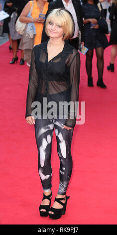 22-09-14: 'What We Did on Our Holiday' - World Premiere, Odeon West End, London Ramona Marquez arrives - Stock Photo