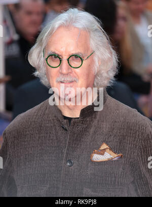 22-09-14: 'What We Did on Our Holiday' - World Premiere, Odeon West End, London Billy Connolly arrives - Stock Photo