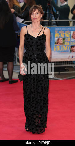 22-09-14: 'What We Did on Our Holiday' - World Premiere, Amelia Bullmore arrives - Stock Photo