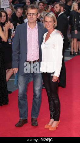 22-09-14: 'What We Did on Our Holiday' - World Premiere, Hugh Dennis arrives - Stock Photo