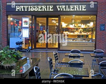 Patisserie Valerie Golden Square Warrington town centre, Cheshire, North West England, UK - Stock Photo