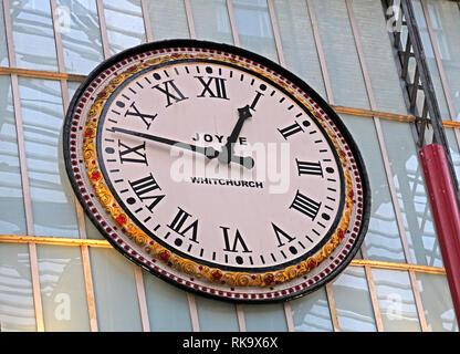 Joyce clock Whitchurch, at Liverpool Lime Street mainline railway station, Merseyside, England, UK, L1 1JD - Stock Photo