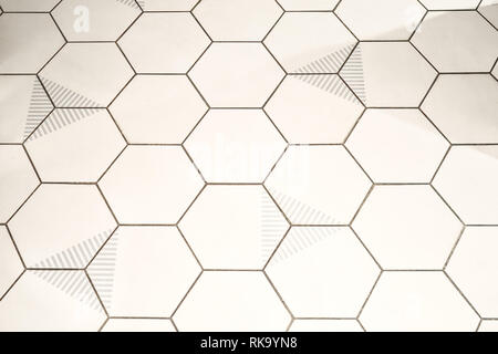 Background of hexagon shaped cells - Stock Photo