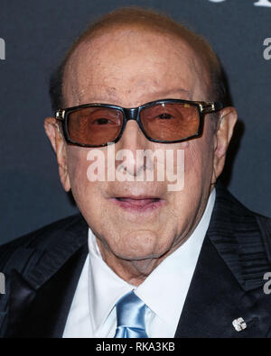 California, USA. 9th Feb 2019.  Clive Davis arrives at The Recording Academy And Clive Davis' 2019 Pre-GRAMMY Gala held at The Beverly Hilton Hotel on February 9, 2019 in Beverly Hills, Los Angeles, California, United States. (Photo by Xavier Collin/Image Press Agency) Credit: Image Press Agency/Alamy Live News - Stock Photo