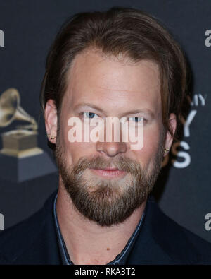 California, USA. 9th Feb 2019.  Singer Brian Kelley of Florida Georgia Line arrives at The Recording Academy And Clive Davis' 2019 Pre-GRAMMY Gala held at The Beverly Hilton Hotel on February 9, 2019 in Beverly Hills, Los Angeles, California, United States. (Photo by Xavier Collin/Image Press Agency) Credit: Image Press Agency/Alamy Live News - Stock Photo