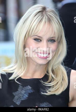 LONDON, ENGLAND, UK - JUNE 9 - Kimberly Wyatt attends the European Premiere of 'Entourage' at Vue West End, Leicester Square on June 9, 2015 in London - Stock Photo