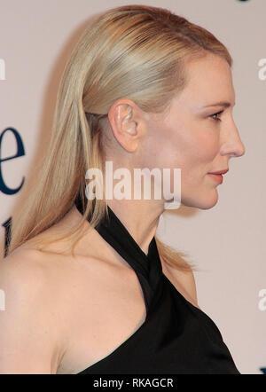 Blue Jasmine UK Film Premiere, Odeon, West End, London Cate Blanchett arrives for the UK Premiere of 'Blue Jasmine' - Stock Photo