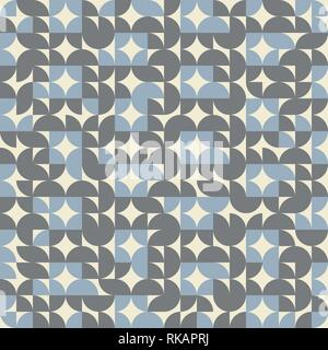 Abstract geometric circle pattern color background retro. You can use for simple design of pattern for decoration. vector eps10 - Stock Photo