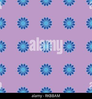 Abstract seamless pattern on the light pink background - Stock Photo