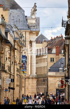 Rue de la Liberté, Dijon, Côte d´Or, Burgundy Region, Bourgogne, France, Europe - Stock Photo