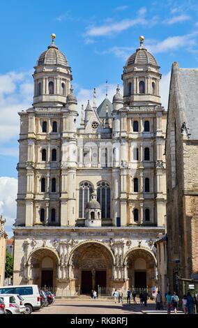 Saint-Michel church, Dijon, Côte d´Or, Burgundy Region, Bourgogne, France, Europe - Stock Photo