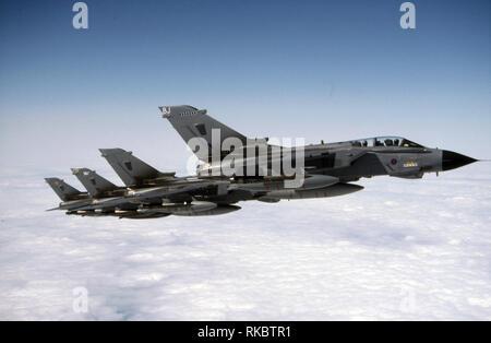ROYAL AIR FORCE Panavia Tornado - Stock Photo