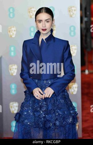 London, UK. 10th Feb, 2019. LONDON, UK - FEBRUARY 10: at the 72nd British Academy Film Awards held at Albert Hall on February 10, 2019 in London, United Kingdom. Credit: Imagespace/Alamy Live News - Stock Photo