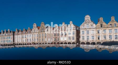 France, Hauts de France, Pas de Calais, Arras, the Grand Place. - Stock Photo