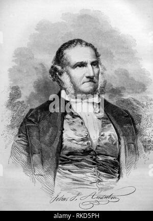 John James Audubon (born Jean Rabin; April 26, 1785 - January 27, 1851) was an American ornithologist, naturalist, and painter. He was notable for - Stock Photo