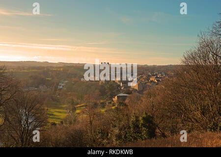 Winter Landscape of Richmond - Stock Photo