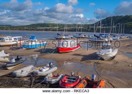 Newquay Ceredigion Wales. - Stock Photo
