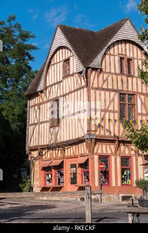 Cite Medieval Provins Seine-et-Marne Ile-de-France France. - Stock Photo
