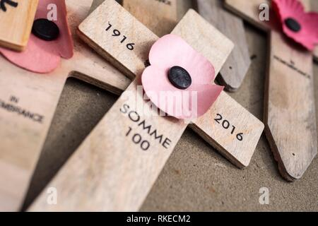 Remembering the Great War. - Stock Photo
