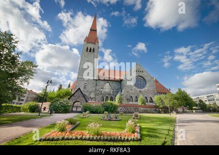 Tampere cathedral, Finland. - Stock Photo
