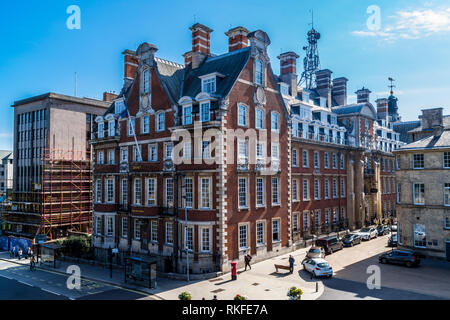 Grand Hotel, 1906, by Horace Field, Edwardian Renaissance revival style, Station Rise, York, England - Stock Photo