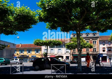 France, Occitanie, Haute Garonne, at Saint Gaudens. - Stock Photo