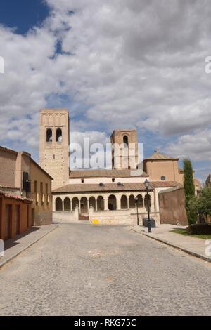 San Martin church of Arevalo, Avila province,Castilla-Leon, Spain. - Stock Photo