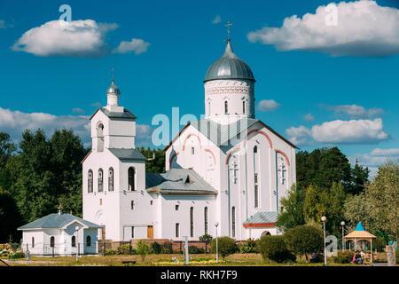 St. Alexander Nevsky Church in Gomel, Belarus. Orthodox Church. - Stock Photo