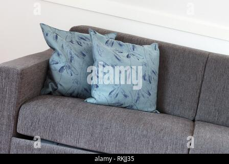 Shot of a modern couch in a living room. - Stock Photo