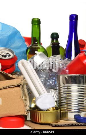 Trash for recycling - Stock Photo