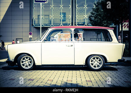 Trabant car - Stock Photo