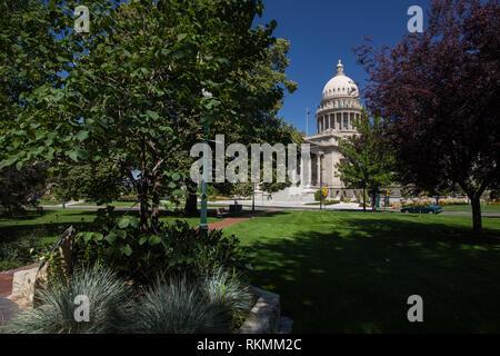 Boise, Ada County, Idaho, USA - Stock Photo