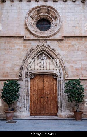 Lonja de Palma de Mallorca , Sa Llotja, S. XIV, Mallorca, balearic islands, Spain. - Stock Photo