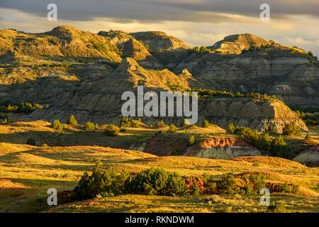 Badlands from Buck Hill, Theodore Roosevelt NP (South Unit), North Dakota, USA.