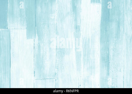 Wooden plank blue wood all antique cracked furniture weathered white vintage wallpaper texture background. - Stock Photo