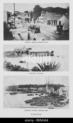 Barbados. Hill, Robert Thomas, 1858-1941 (Author). Cuba and Porto Rico : with the other islands of the West Indies : their topography, climate, - Stock Photo